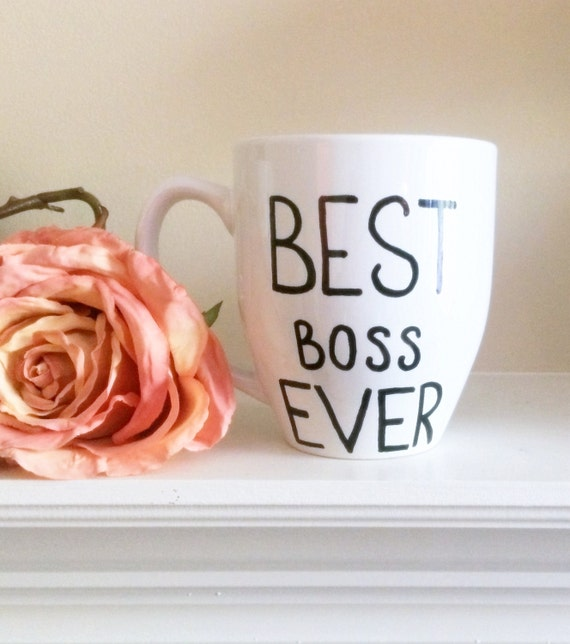 16 OZ Best boss ever coffee mug//boss gift//best boss mug//boss present//best boss coffee mug//custom mug//personalized mug
