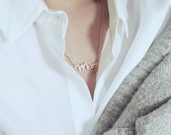 Mars Aries Necklace Horoscope Necklace The Ram Necklace 18K Rose Gold Necklace Charm Necklace Star Sign Necklace Pendant Necklace