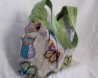 Butterfly medium tote bag (Maine Made)