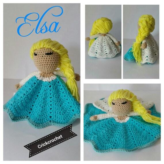Amigurumi Princesas Disney : Frozen Elsa amigurumi princesas Disney princess Disney