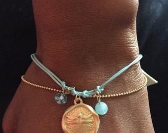 "Beautiful ""Dragonfly"" Bracelet"