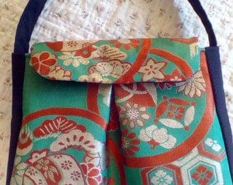 Japanese Vintage Obi Handbag