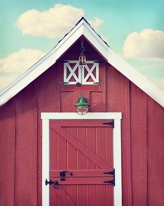 Red Barn Wall Decor : Rustic wall decor red barn photo kitchen