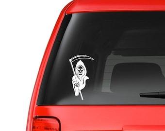 Grim Reaper (M3) Vinyl Decal Sticker Car/Truck Laptop/Netbook Window