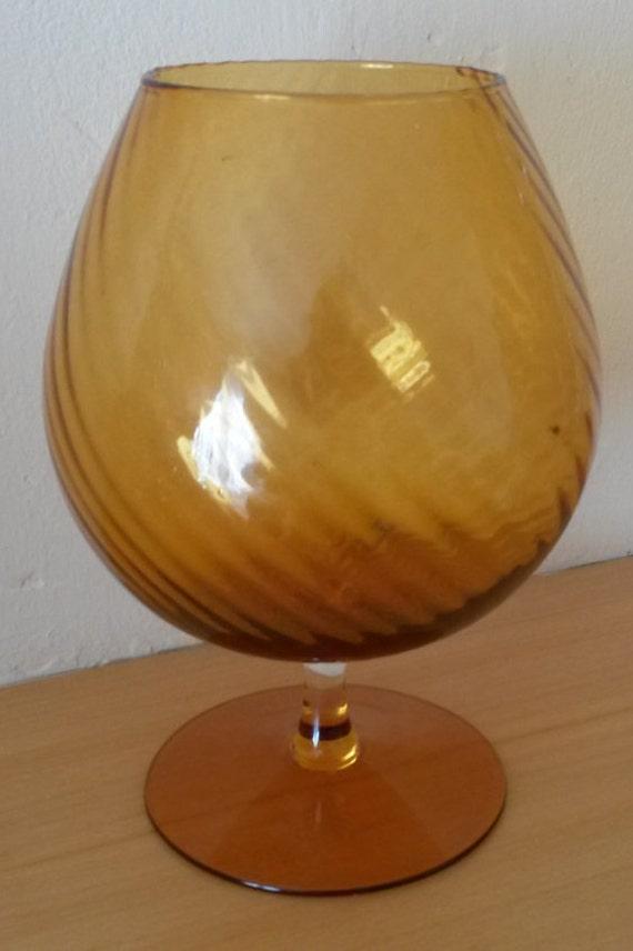 Brandy Glass Vase Glass Brandy Balloon Vase