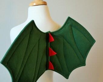 Children's Dragon Wings, Dinosaur Wings, Dressing Up, Christmas Gift, Felt, UK Handmade, Fancy Dress Costume, Kids, Toddlers, Boys, Girls