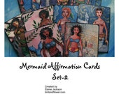Mermaid Affirmation Cards Set 2  - download version