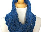Crochet Cowl PATTERN - 30 Minutes/1 Skein Scarf - Unisex Men Women Teens - Last Minute Gift