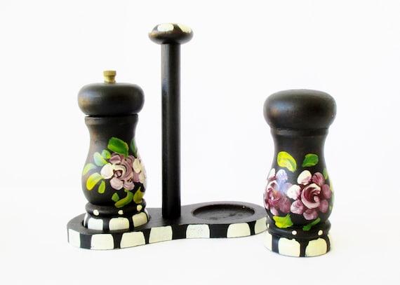 Folk Art Salt And Pepper Shakers Germany By Mybeautifulbavaria
