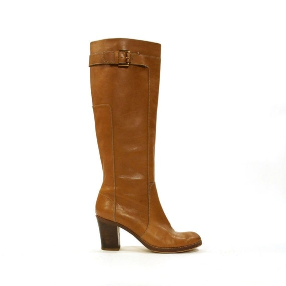 via spiga leather boots s size 9 5 by