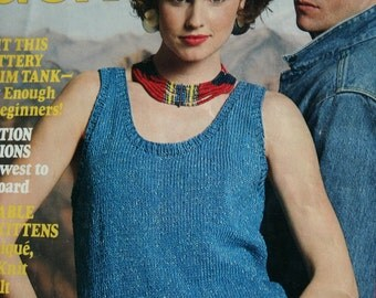Knitting Patterns McCall's Needlework and Crafts June 1987 Vintage Paper Originals NOT a PDF