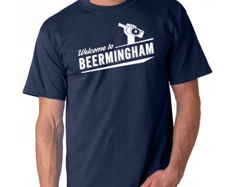 Welcome to Beermingham t-shirt