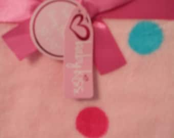 Baby Kiss Super Soft Baby Blanket Pink