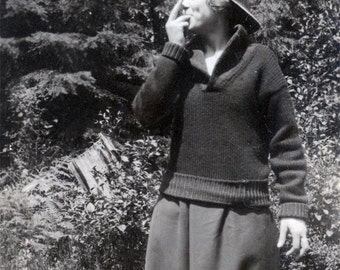 vintage photo Young Lady Whistles Dress Tom Boy Cap Strong Woman Wilhelmina Zeldenrust