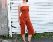 ORGANIC Love Me 2 Times Simplicity Gaucho (light hemp/organic cotton knit) - organic gauchos