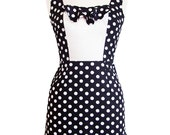 Karina wiggle dress- minnie mouse polka dots