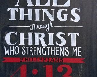 Christian Art and Original hand painted crosses