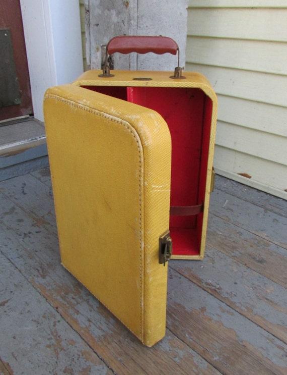 50s portable bar suitcase vintage 1950s traveling bar case - Mobile bar vintage ...
