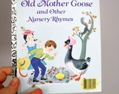 NOS 1988 Old Mother Goose and Other Nursery Rhymes - A Little Golden Book