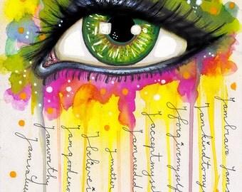 Sacred Eye - Art Print
