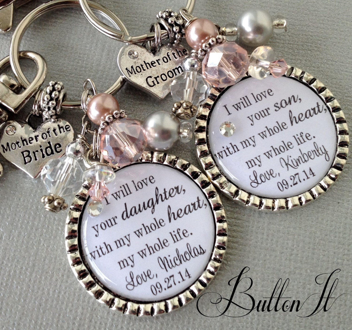 Thank You Wedding Gifts For Mum : MOTHER of the BRIDE gift PERSONALIZED wedding mother of