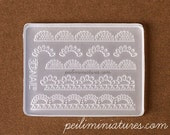 Miniature Lace Silicone Mold - Pearl Lace