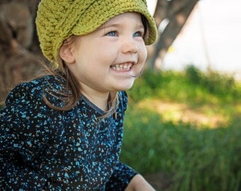 Toddler Newsboy Hat 1T to 2T Toddler Girl Hat Toddler Boy Hat Toddler Girl Newsboy Cap Toddler Boy Newsboy Country Green Newsboy Buckle