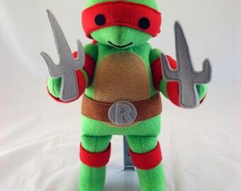 Cuddly Plush Turtle with Attitude