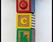 COCKY BLOCK ART by Lauretta Lowell