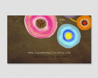 100 custom business cards - Rupydetequila