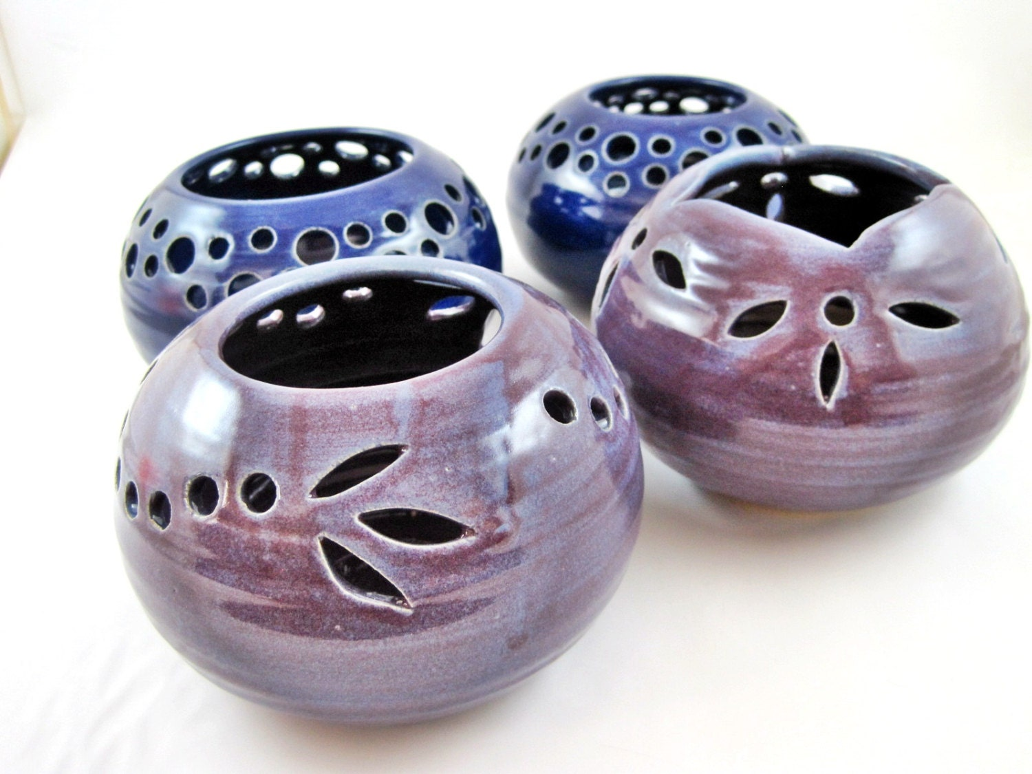 Ceramic Tea Light Candle Holder Holds Water By