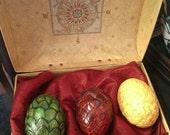 Dragon Eggs in a box.