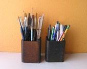 Pencil Cup, Remote Control Storage Box, Industrial Home and Office Decor, Graduation, Bachelor Decor