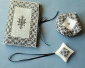 Blackwork collection. Blackwork embroidery pattern. Instant download PDF