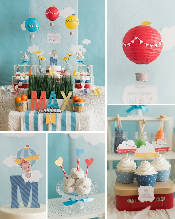 Hot Air Balloon Birthday Hot Air Balloon Party Decoration