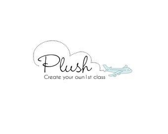 Logo Design, Custom Logo Design, Airplane Logo