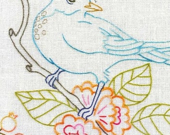 Heather Bailey Hand Embroidery Patterns Birds & Branches