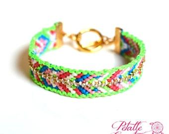 rhinestone friendship bracelet, rhinestone bracelet, woven bracelet, cotton bracelet, hand made bracelet, stacking bracelet,arm candy