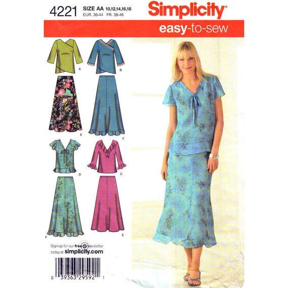 easy womens skirt patterns - photo #17