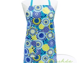 Pinafore Apron Cooking Apron Personalized Apron Full Apron Womens Apron Custom Apron Monogrammed Apron AdjustableApron  Cute Apron Set