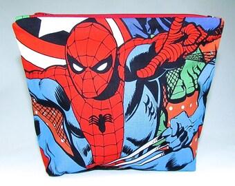 POUCH - Spider-Man **handmade**