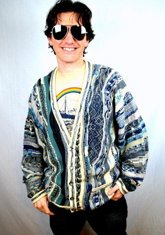 Australia Sweater Vest Rainbow Cosby Sweater Vest
