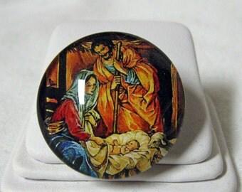Nativity brooch/pin - AP01-300