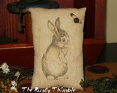 Bunny  Rabbit Pillow bowl filler