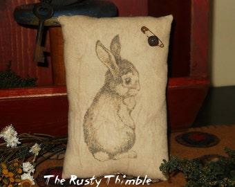 Bunny  Rabbit Pillow bowl filler