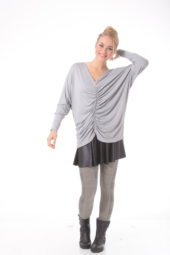 Womens oversize tunic, Plus size oversize tunic, Maternity oversize tunic, Oversize top, Oversized shirt for women, Long sleeve oversize top