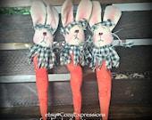 Bunny & Carrot Bowl Fillers Tucks