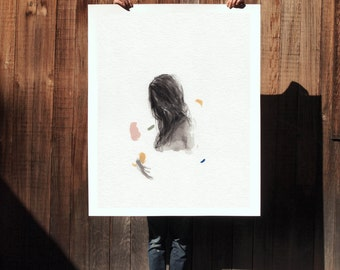 From Below .  extra large wall art . giclee print