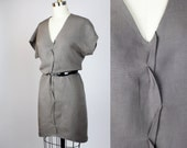 T-shirt dress / Tencel linen dress Tee dress or tunic - Comfortable dress