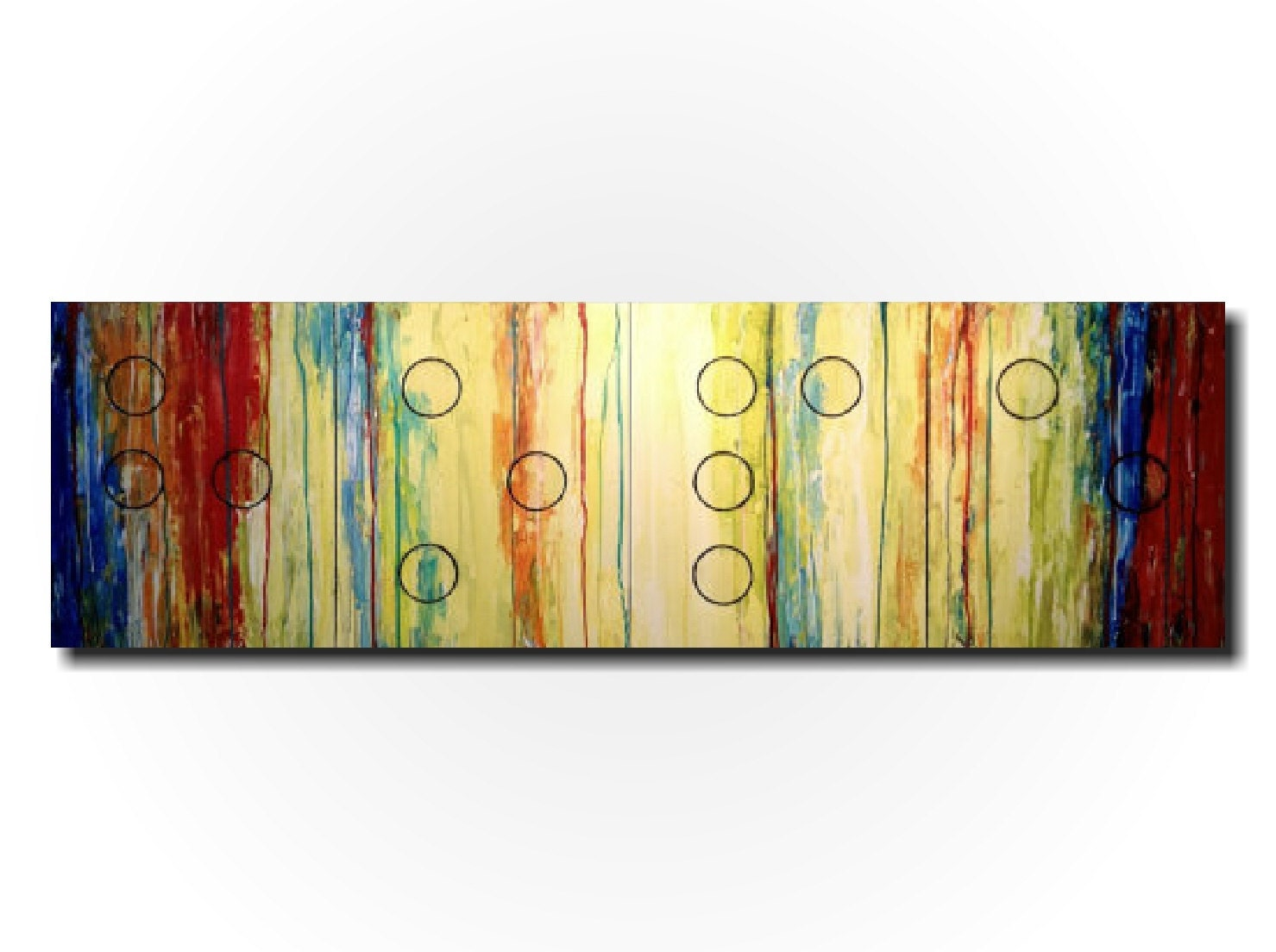 Original Large abstract painting oil paintings by